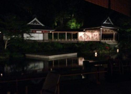 修善寺の舞台