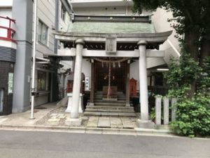 大井町駅付近の神社