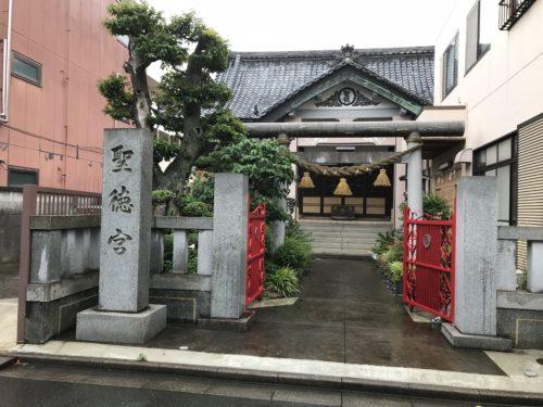 小岩付近の見つけにくい神社仏閣
