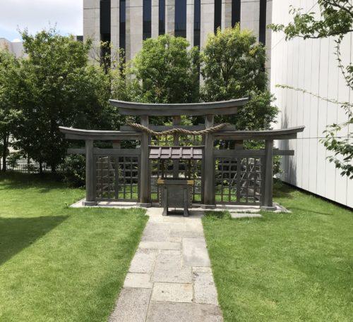 銀座の三輪神社