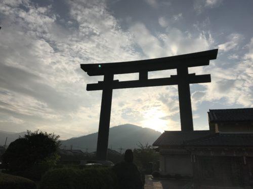 大神神社の大鳥居【三輪】