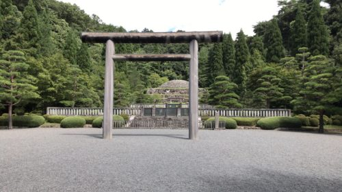124代 昭和天皇 武蔵野陵