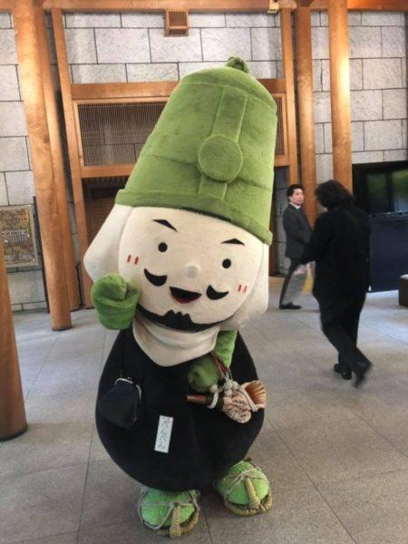 国立能楽堂にべんべんくん!【三井寺】